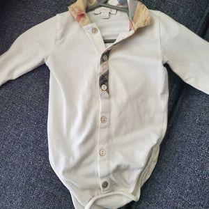Burberry baby body suit